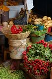 Vegetable Market. In Chiapas, Mexico Royalty Free Stock Photography