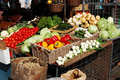 Vegetable Market Royalty Free Stock Image