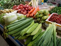 The vegetable market in Beijing Royalty Free Stock Images