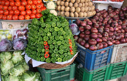 Vegetable market. Egypt Royalty Free Stock Image