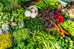 Vegetable in the market Stock Photos