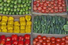 Vegetable market Royalty Free Stock Image
