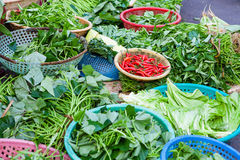 Vegetable market in Hoi An Royalty Free Stock Image