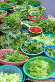 Vegetable market in Hoi An Stock Images