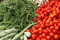 Vegetable market. India Stock Photos