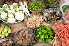 Vegetable market, India Royalty Free Stock Photo