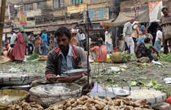 Vegetable market in Kolkata Stock Photography