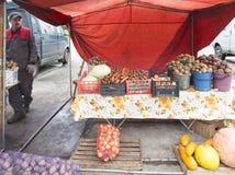 Vegetable market in nizhny novgorod ,russian federation Stock Photo