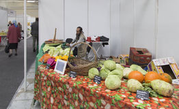 Vegetable market in nizhny  novgorod ,russian federation Stock Photos