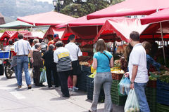 Vegetable market. Royalty Free Stock Photo