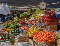 Vegetable market Stock Photos
