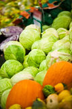 Vegetable market stall Stock Photography