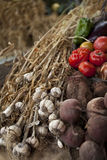 Vegetable on a market Royalty Free Stock Photos