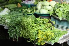 Vegetable market, Thailand Stock Images