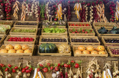 Vegetable market Stock Images