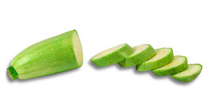 Vegetable marrow Royalty Free Stock Photos