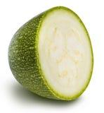 Vegetable marrow  squash zucchini  on white background Stock Images