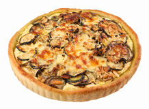 Vegetable marrow tart Stock Photography