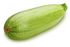 Vegetable marrow  on white background Stock Photography