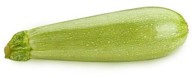 Vegetable marrow  on white background Royalty Free Stock Photo