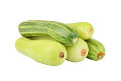 Vegetable marrow (zucchini) Royalty Free Stock Images