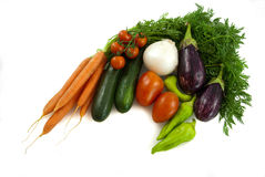 Vegetable mix Stock Images