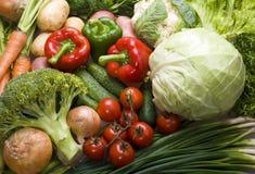 Vegetable mix Stock Photos
