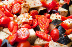 Vegetable mix Stock Photography