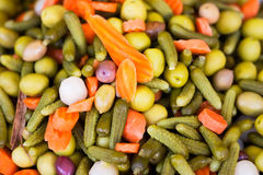 Vegetable mix texture Royalty Free Stock Images