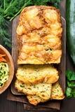Vegetable moist bread Stock Photos