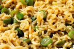 Vegetable noodles Stock Photography