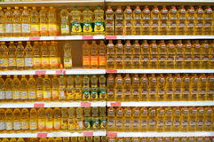 Vegetable oils Royalty Free Stock Photo