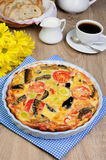 Vegetable omelet Royalty Free Stock Images