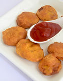 Vegetable Pakora Stock Photography