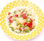 Vegetable pan Stock Image