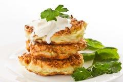 Vegetable pancakes Royalty Free Stock Photo