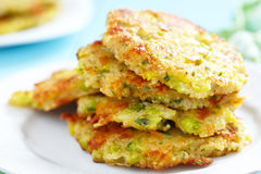 Vegetable Pancakes Stock Images