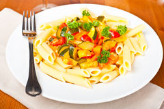 Vegetable pasta Royalty Free Stock Image