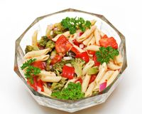 Vegetable Pasta Royalty Free Stock Images