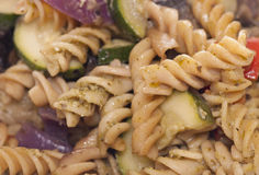 Vegetable pasta abstract Stock Image