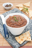 Vegetable pate of eggplant and tomatoes Royalty Free Stock Photography