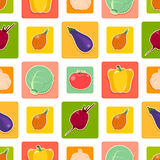 Vegetable_pattern Stockbilder