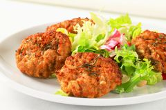 Vegetable Patties Stock Images