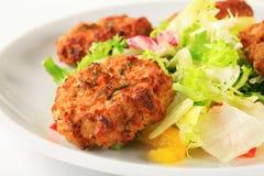 Vegetable patties Royalty Free Stock Image