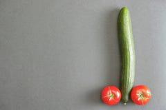 Vegetable penis Royalty Free Stock Photo