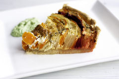 Vegetable pie Royalty Free Stock Photography