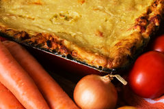Vegetable pie Stock Image