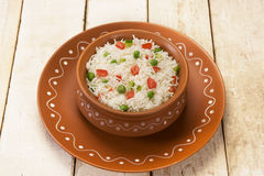 Vegetable Pilau Royalty Free Stock Photo