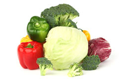 Vegetable pile Royalty Free Stock Photography