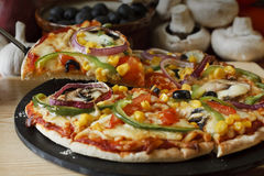 Vegetable Pizza Royalty Free Stock Photos